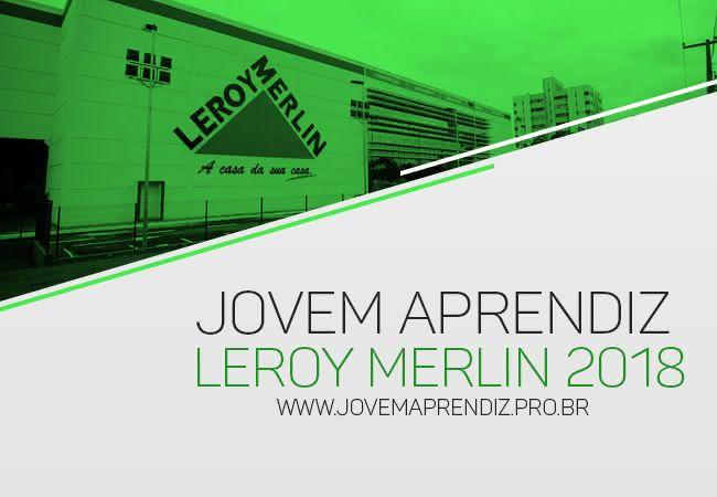 Jovem Aprendiz Leroy Merlin 2018