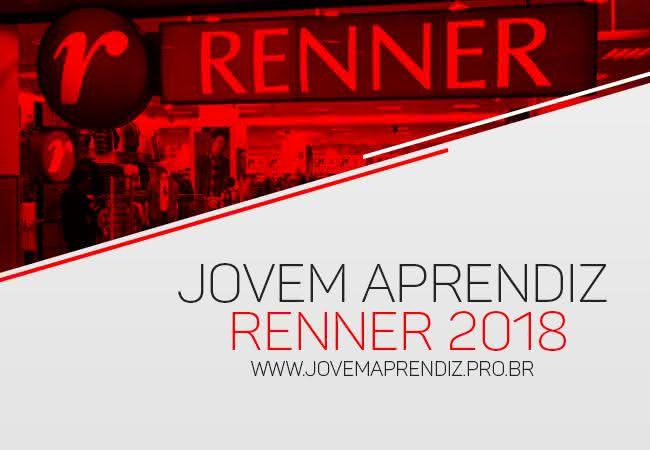 Jovem Aprendiz Renner 2018