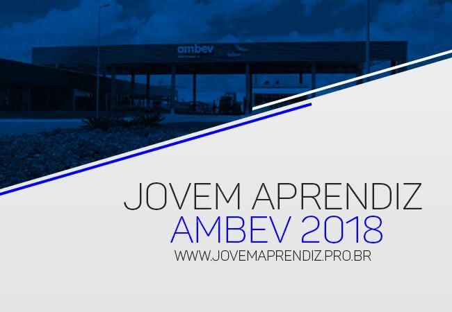 Jovem Aprendiz AMBEV 2018