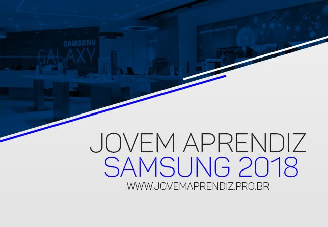 Jovem Aprendiz Samsung 2018