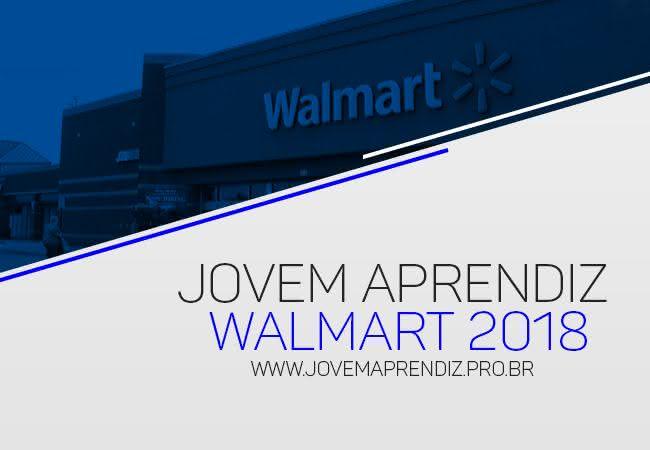 Jovem Aprendiz Walmart 2018