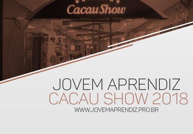 Jovem Aprendiz Cacau Show 2018