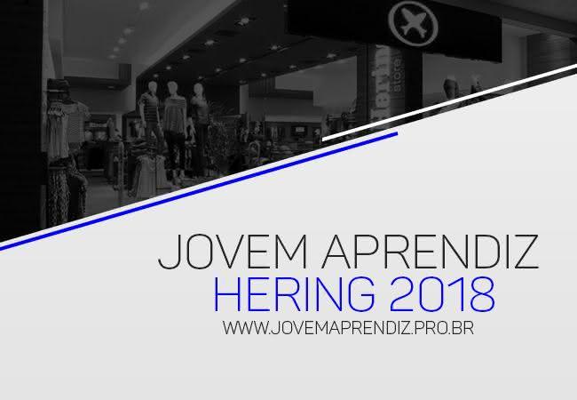 Jovem Aprendiz Hering 2018