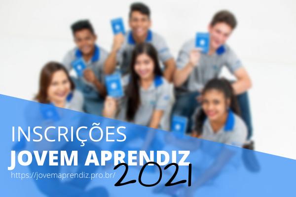 Inscrições Jovem Aprendiz 2021