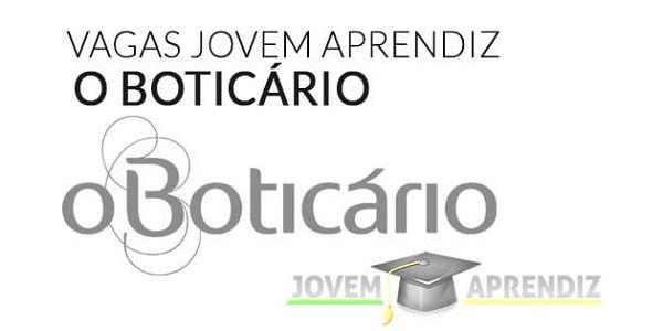 Jovem Aprendiz O Boticario 2021