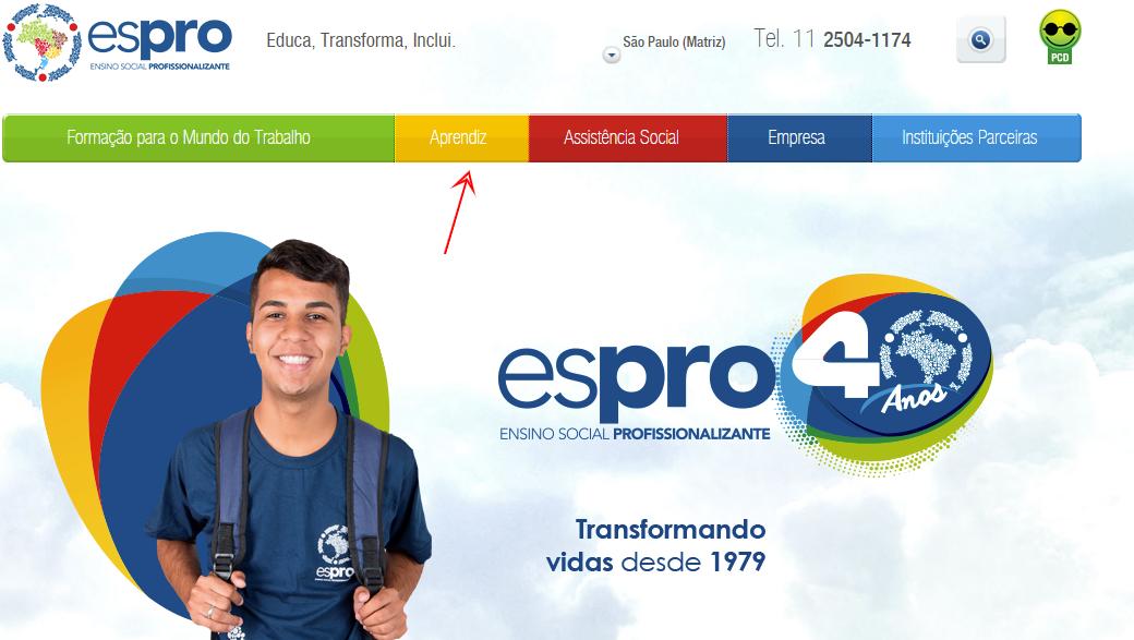 Jovem Aprendiz Espro 2021