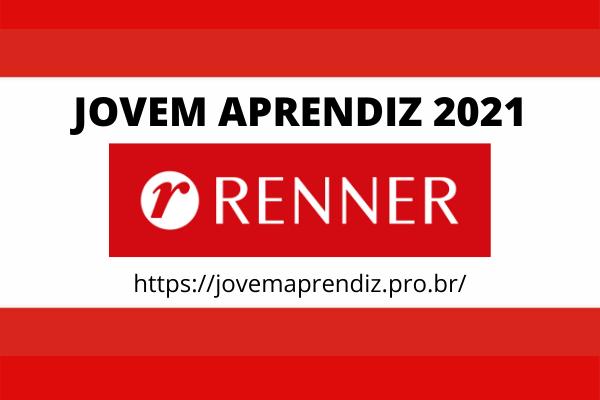 Jovem Aprendiz Renner 2021