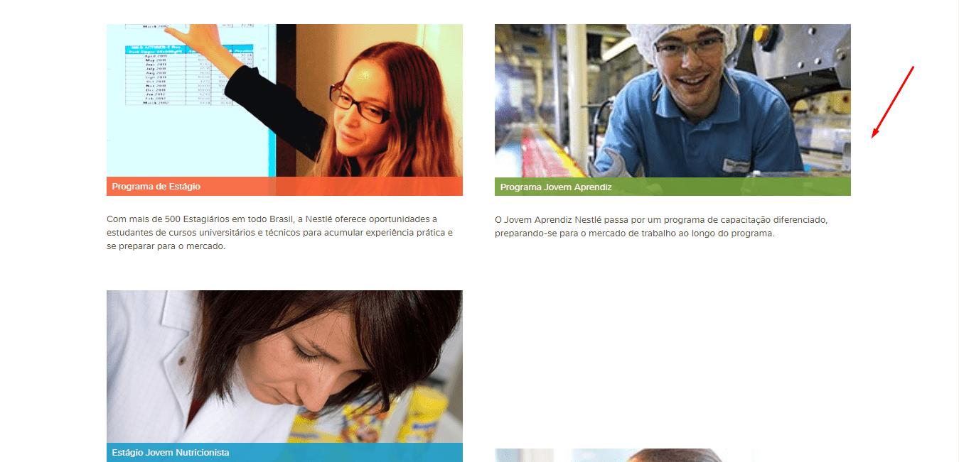 Jovem Aprendiz Nestlé 2021
